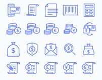 Banking & Finance Icon Set
