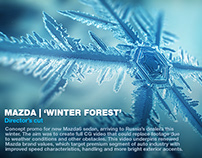 MAZDA | WINTER FOREST