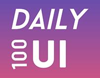 Daily UI ( 2017)
