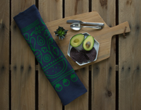 Produce Tea Towel