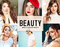 Free Beauty Mobile & Desktop Lightroom Presets