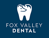 Fox Valley Dental Business Card Mock_Early Concept