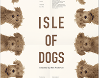 Poster Design for ISLE OF DOGS