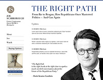 Website for Joe Scarborough