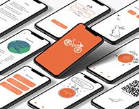 Cyklappen Appdesign