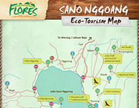 Information sign material for Flores Ecotourism