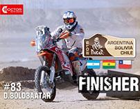 Dakar Rally 2015 #83 D.BOLDBAATAR Showreel