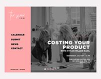 The Scene - Web Design Concept