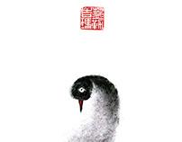 red nose \ птичьи красные носы