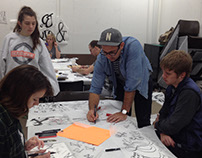 Handlettering Workshop with Erik Marinovich