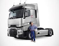 Renault Trucks advertising designs& CGI