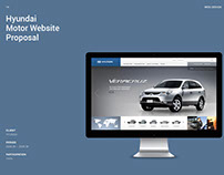 Hyundai Motor Global Website Proposal