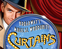 THEATRE POSTER: CURTAINS
