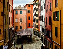 Calles de Génova / Genova e le sue strade