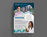 Highline College Engineering Jumbo Rack Card