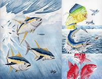 Ashlynn's Gourmet Custom Fish Artwork