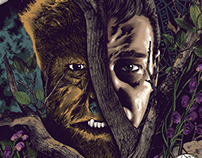 The Wolf Man Screen-Print