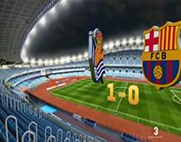 Hat Trick Barça - real sociedad vs f.c. barcelona 2016