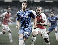 UK Premier League match Promotion Chelsea - Arsenal