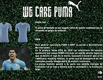 WWF y Puma, We care Puma