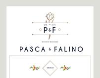 Pasca & Falino Wedding Invitation