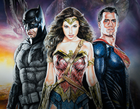 Batman V Superman - Dawn of Justice - Poster
