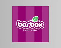 barbox - Frozen Yogurt Label Design