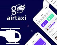 Go Air Taxi Booking UI Concept