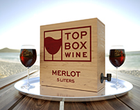 Top Box Wine logo