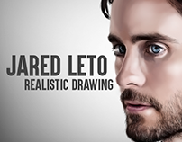 Jared Leto Realistic Drawing