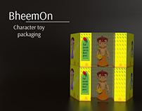 Packaging Design (Characters Packaging)