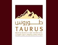 Taurusrestaurant & cafe (logo + branding)