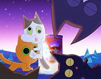MixCode Christmas Cat