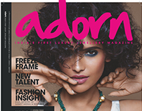 Cover + story, Adorn India