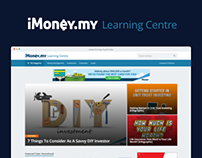 iMoney - Learning Centre Redesign