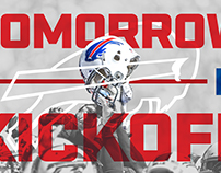Buffalo Bills Social Graphics