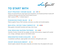 Sea Grill Restaurant Menus