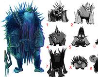 Visual Development: Characters, Environment, Color Keys