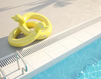 Floaties Holiday Resort.