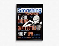 Poster - Smashing Pumpkins Concert