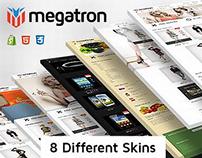 Megatron Shopify Bootstrap Theme