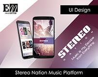 Stereo Nation Music Platform
