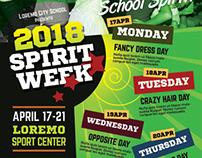 Spirit Week Flyer Templates