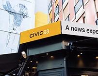 CIVIC | Brand identity