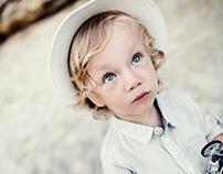 Portrait series of my son