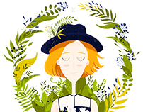 Hat in the jungle!