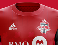 Toronto Football Club - home & away 2018/2019 MLS