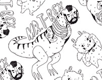 Mr T Rex Pattern