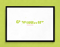 Ghostbusters | TypographicalPoster