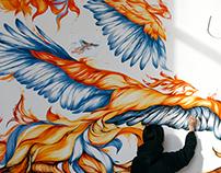 FIREBIRDS / mural
